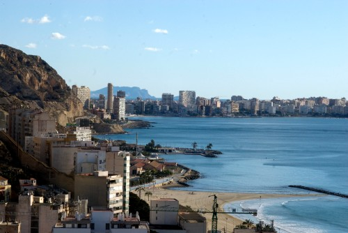 Early morning in Alicante