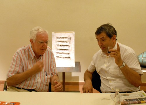Music director (right) and Summer University rector of Prada (left)