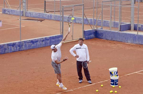 Rafa Nadal. Toni Nadal. Manacor (Mallorca).