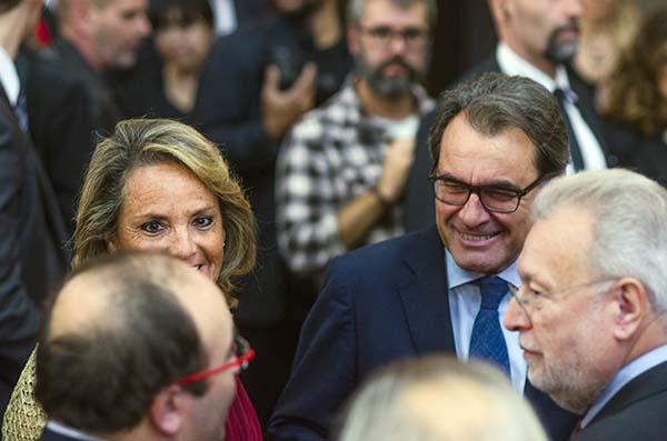 Miquel Iceta, Artur Mas. Premi Planeta. Barcelona.